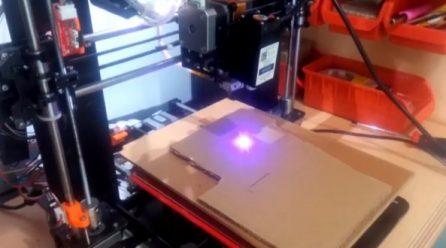 3D Yazıcıyı'yı LASER ENGRAVER'e dönüştürme