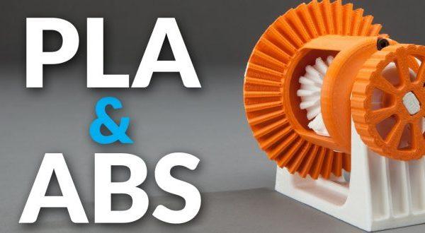 Yaygın Plastikler: ABS & PLA