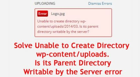 [FIXED]Unable to Create Directory wp-content/uploads. Is its Parent Directory Writable by the Server in WordPress