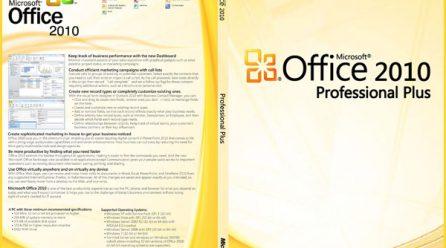 Microsoft Office Professional Plus 2010 Key